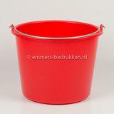 12 liter emmer Eco rood
