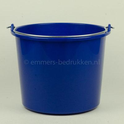 Gekleurde 12L Emmer Agro - onbedrukt