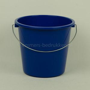 blauwe 5 liter emmer Pocket