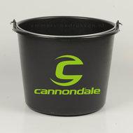 12 liter emmer Eco Zwart met 1 kleur bedrukking